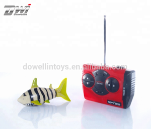 RC Robot Fish Remote Control Swimming Shark With Swing Tail Toys For Kids