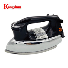 Heavy dry iron 1200W Fullcast non-stick Teflon coating soleplate iron 3530