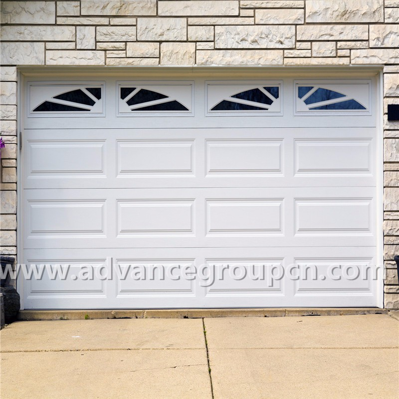 Factory price steel garage door low prices buy steel for Garage low cost