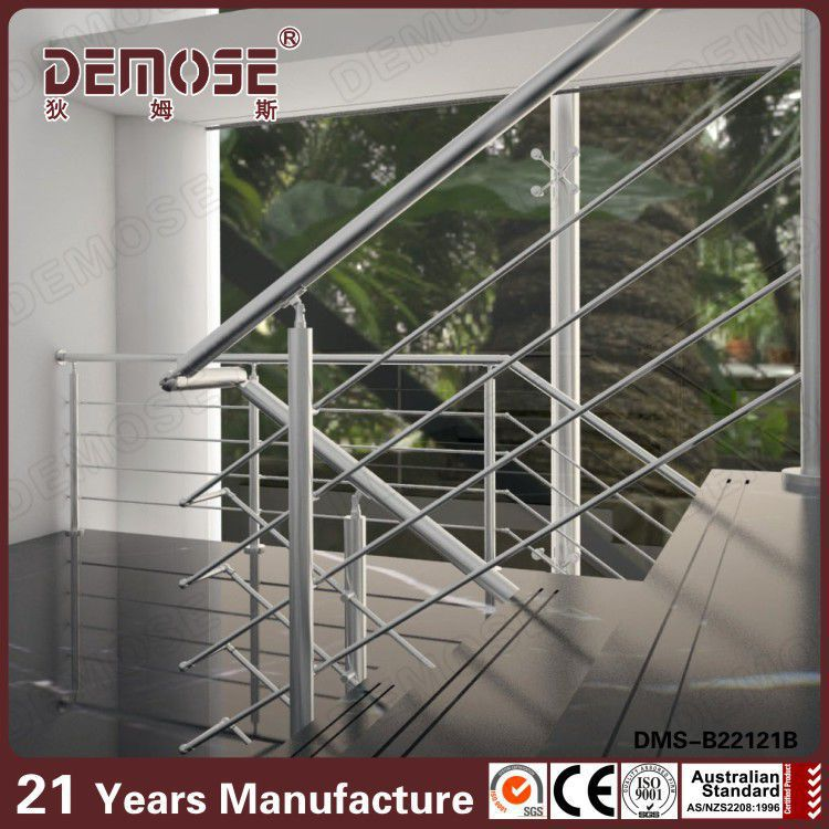 Prefabricated Handrails For Outdoor Steps Stainless Steel Staircases Handra