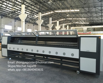 5m digital printer high speed advertising printing machine 5m format wide with starfire printhead