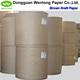 Recycled wrapping brown kraft paper roll manufacturers