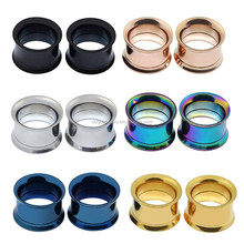 316l Stainless Steel Ear Piercing Jewelry Ear Plugs Gauges Ear Expander Pierced