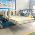 horizontal type light weight eps cement sandwich plate production line