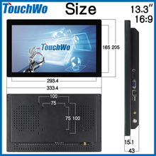 Factory price touch screen monitor for windows 8 With Stable Function
