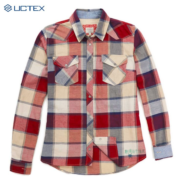 Women solid color flannel shirts long sleeve