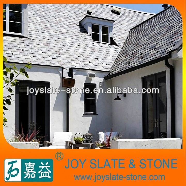 Chinese house slate roofs