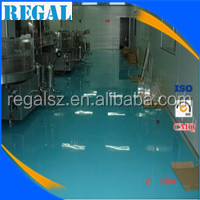Epoxy resin paint flooring for baberies