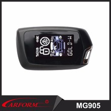 Newest magicar car alarm With dialogue code 2 way car alarm system MG905
