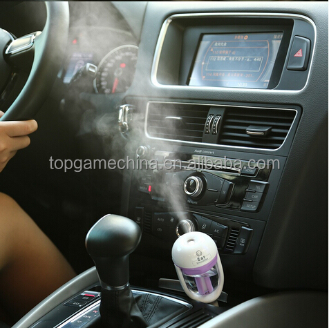 Portable Mini Air Humidifier Car Humidifier Electric Essential Oil Aroma Diffuser Difusor De Aroma Humidificador