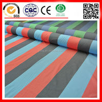 high quality stripe yarn dyed cotton fabric