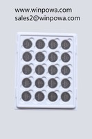 Button cell, 3V lithium manganese, CR2450 coin battery