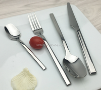 High quality chopsticks spoon fork set promotional wooden spoon and fork with fork knives
