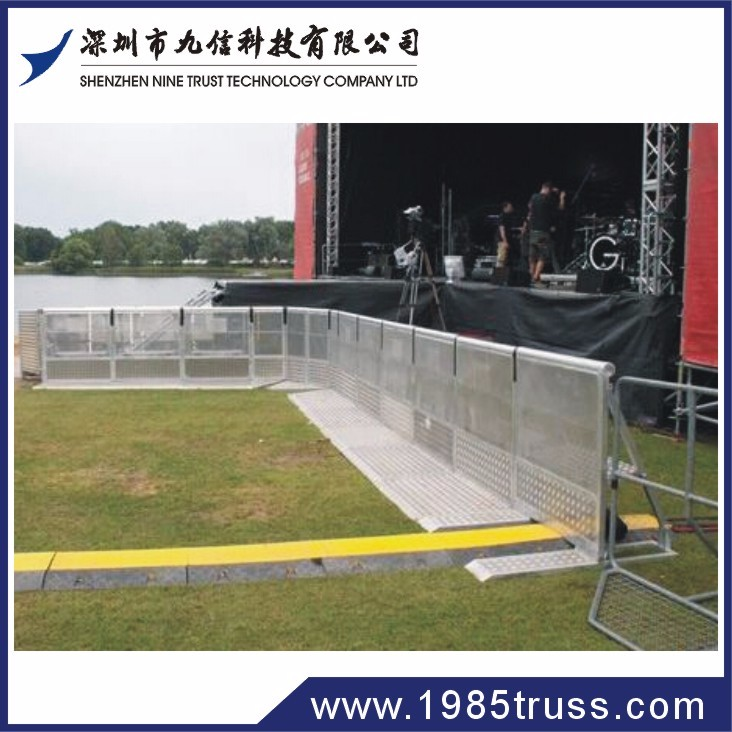 Crowd Control Barrier For Sale / concert mojo barricade / stage barrier