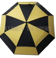 Quality graceful large golf umbrella for all the family