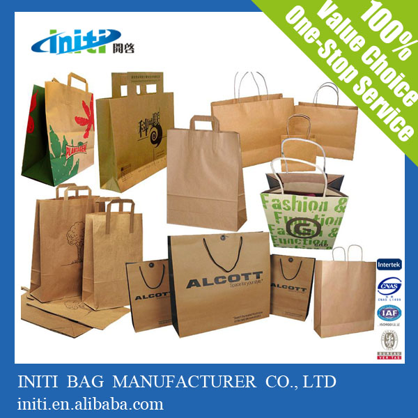 Alibaba China New Products Christmas Customised Shopping Paper Bag