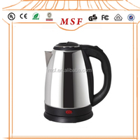 1.8L Auto Shut Off and Dry Boil Protection Electric Stainless Steel Kettle