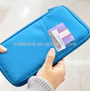 Korea style poly wallet credit card wallet Travel Wallet & Passport Holder