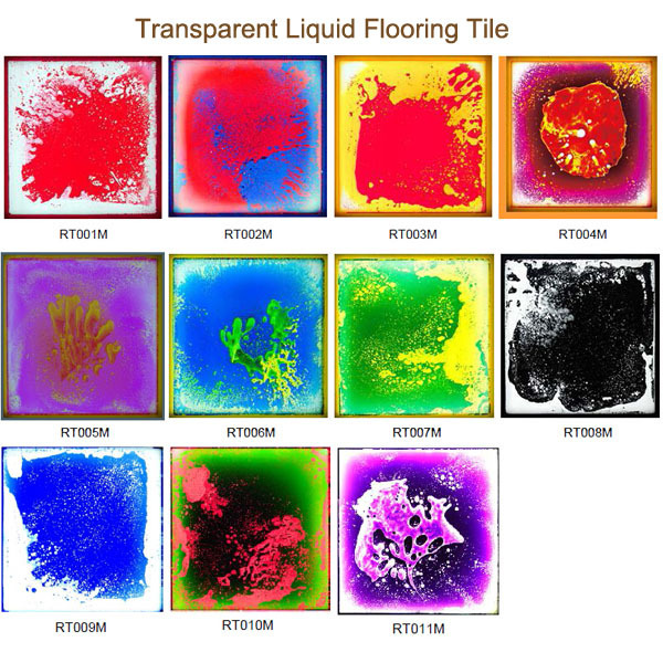 2015 hot sale unique liquid lava floor tiles