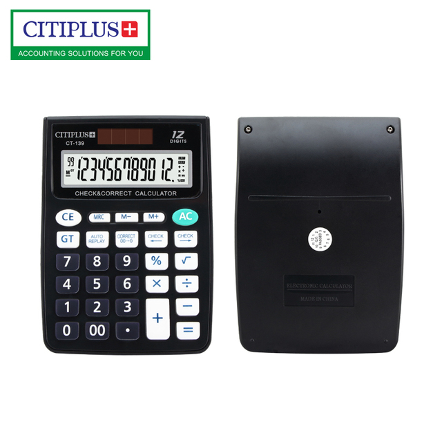 CITIPLUS CT-139 small size calculator low price calculator with check correct function