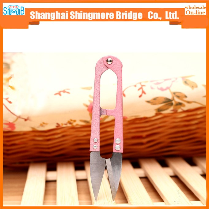 shanghai scissor manufacturer hot sale mini cutter u shape scissors