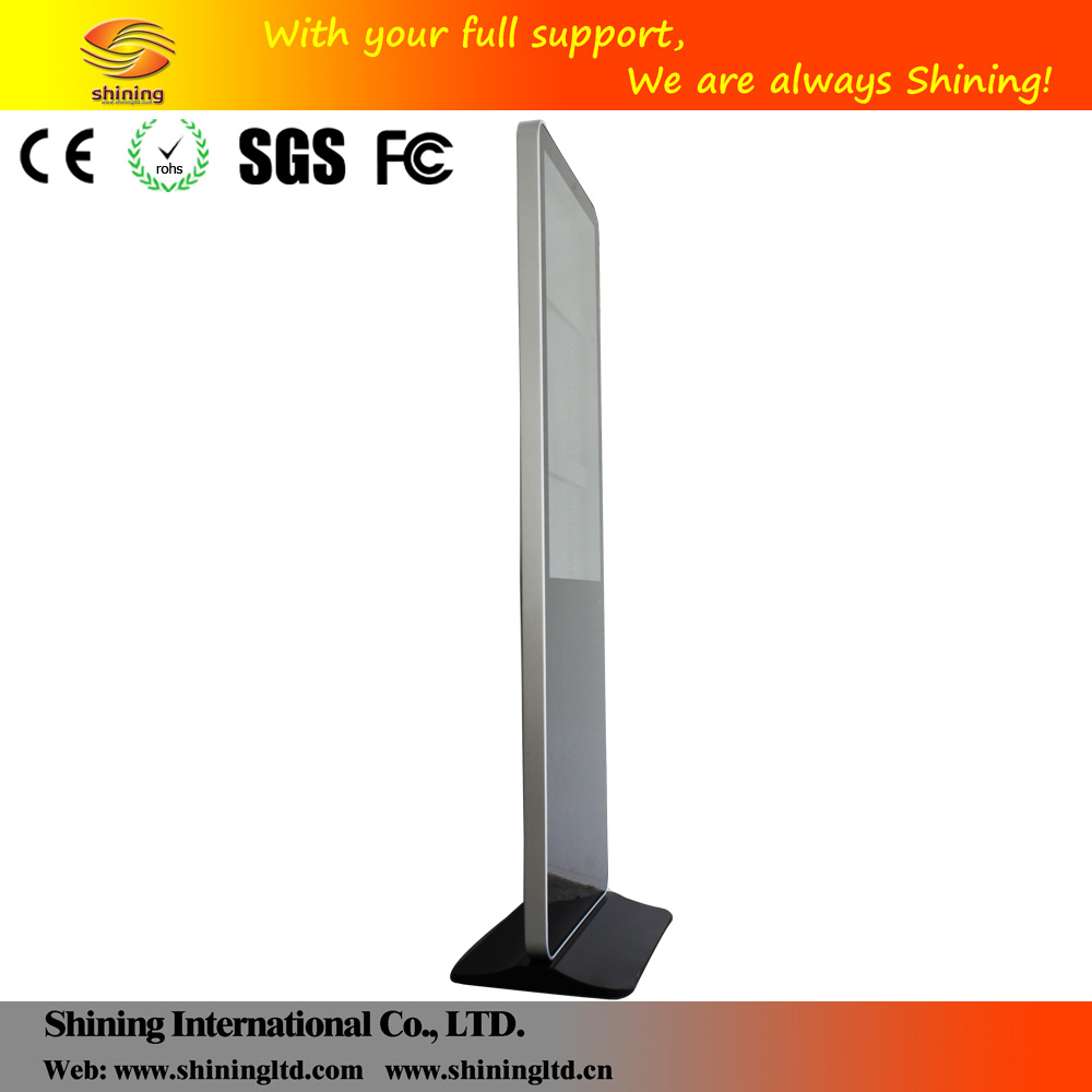 46 inch high definition 1080p floor standing video digital signage advertising player