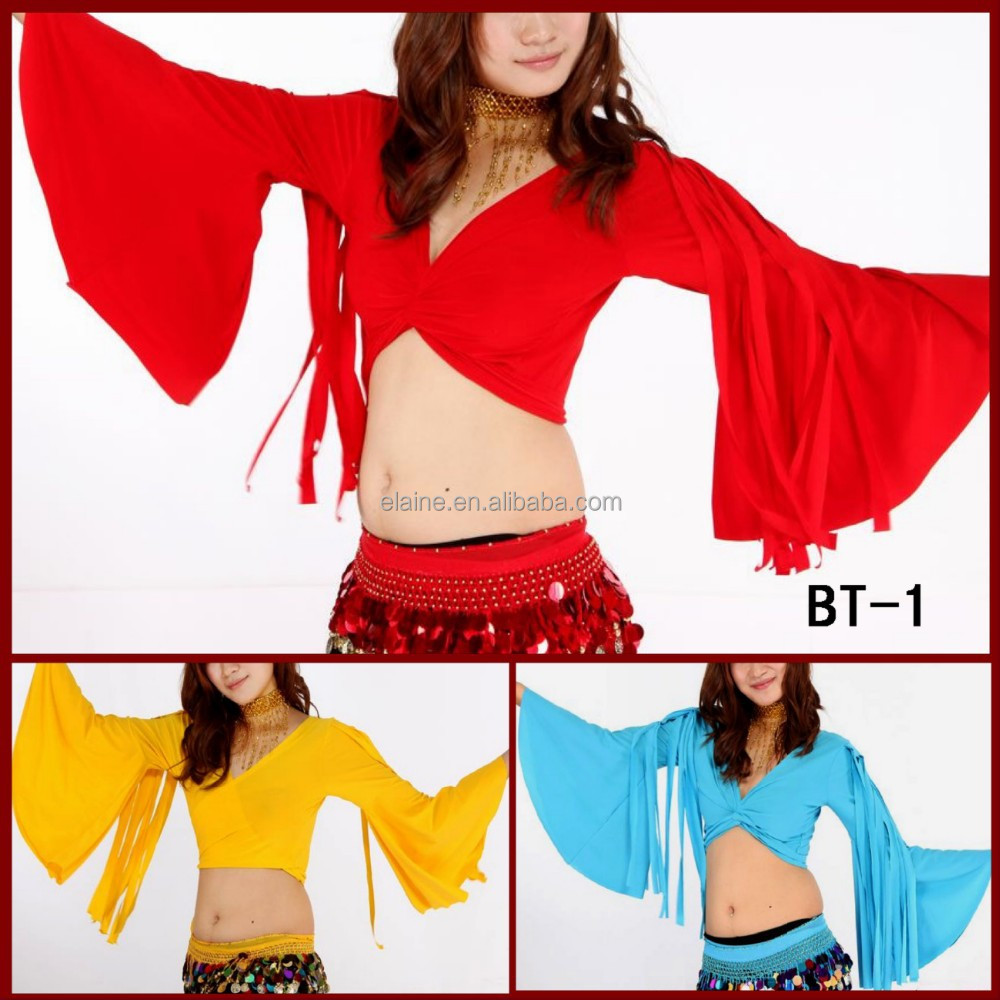 red color belly dance tribal style top (BT-1)