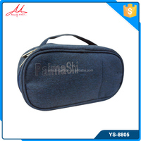 OEM order daily use fashion ladies cosmetic bags & cases with handle