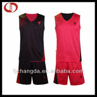 Professional custom cheap reversible basketball uniforms