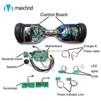 High Quality self balancing electric mobility scooter parts 11 parts kit with bluetooth speaker circuit board