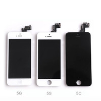Wholesale 100% new digitizer display 4.7 inch lcd touch screen for Iphone 4 4s 5 5s 6 6s