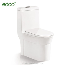 New Siphonic One Piece Toilet S-trap 250mm Good Toilet&Hot Sell Item Edoo Sanitary Ware Factory