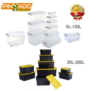 25L-200L Customized Professional Multi-Function Waterproof Heavy Duty Plastic Tool Box