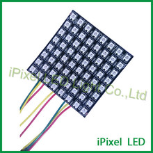 5050rgb square 8*8 led matrix display ws2812b