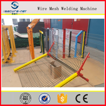 Hot Dipped Galvanized Welded Wire Mesh Panels Steel Fence - Buy ...