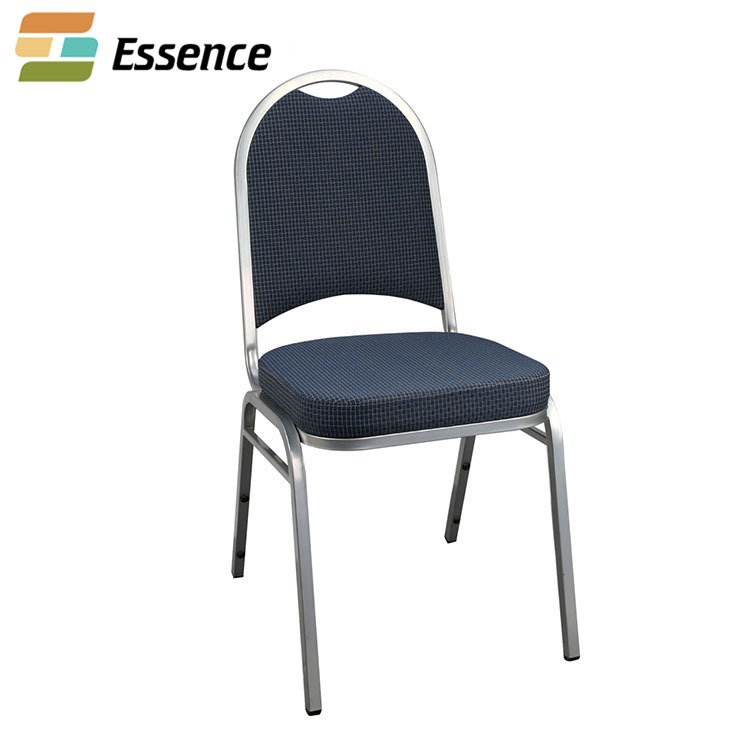 Factory price stackable aluminium banquet chair stacking aluminum chairs