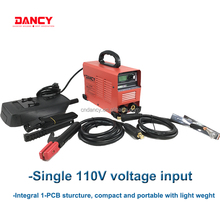 180Amps single voltage 110v mini dc arc igbt invert welding machine with arc-force ,anti-Stick, hot start functions