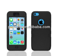 Wholesale robot style sleeping mode for cell mobile phone case for iphone 5c