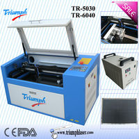 Triumph cheap DIY 50w portable Acrylic Arts and Crafts Small laser cutting machine for sale