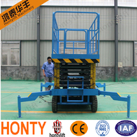 10 m hydraulic used car scissor lift for sale