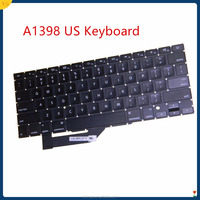 "China Supplier Laptop Replacement A1398 US backlight Keyboard For Apple Macbook Pro Retina 15"" A1398 2013-2016 US keyboard"