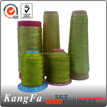 most popular sliver metallic sewing thread for knitting