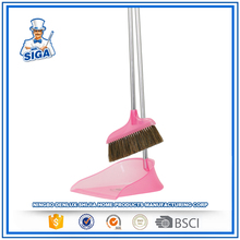Mr.SIGA 2017 Mr.SIGA New Color Floor Cleaning Sweeper Wind-Proof Dustpan And Broom Set