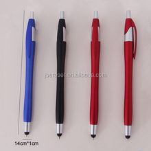 customized logo wholesale plastic stylus ball pen