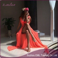 High quality Sexy Summer Women Bathing Suit Chiffon Bikini Swimwear Cover Up Beach Dress