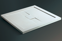 CUPC Pure Acrylic/Pmma Solid Surface Square Shower Base trays BT-19