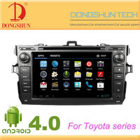 8inch android 4.0 car 2 din dvd for Toyota corolla 2006-2011
