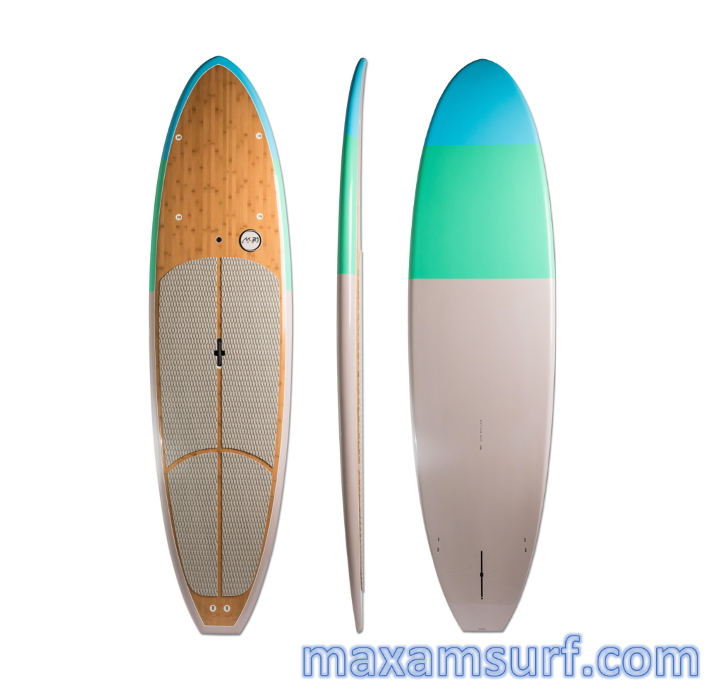 Surfboard manufacturers Epoxy SUP Wood/ Bamboo SUP stand up paddle board