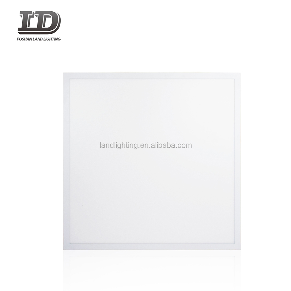 2x2 FT LED Panel Dimmable 40W (120W Equiv.) 5000K Daylight White Drop Ceiling <strong>Flat</strong> LED Light Panel Recessed Edge-Lit Troffer