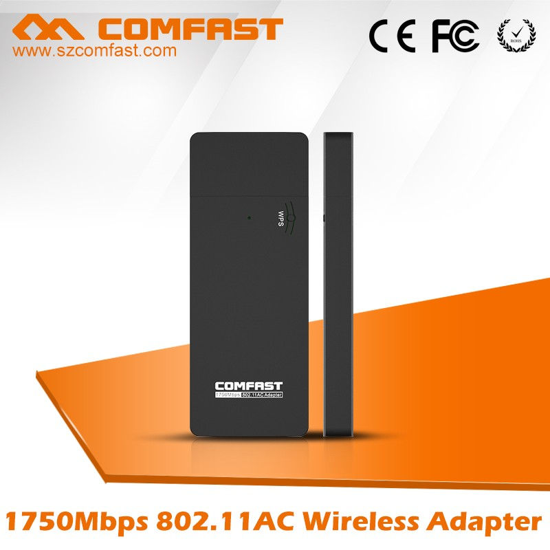 High Data Rate 1750Mbps COMFAST CF-917AC Realtek RTL8814 Wirelss Wifi USB Lan Adapter